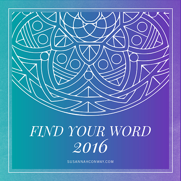 Find Your Word 2016 – NURTURE