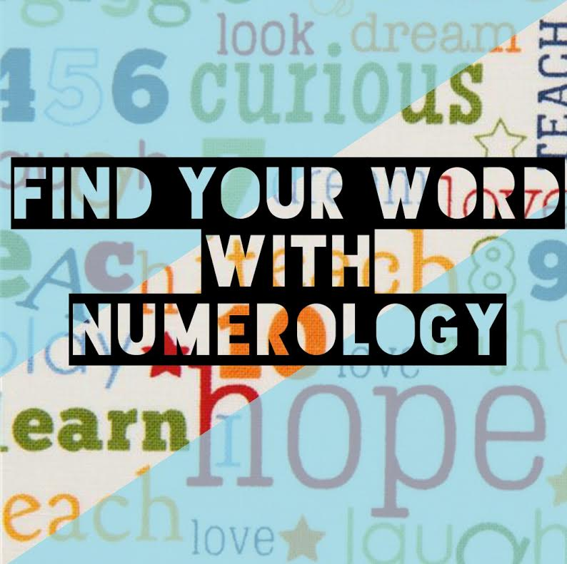 Finding Your Word with Numerology