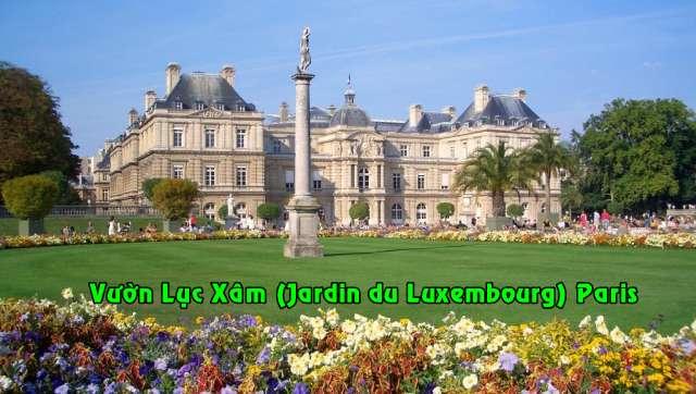 Cung điện vườn Luxembourg nay là trụ sở Thượng Viện Pháp - DR