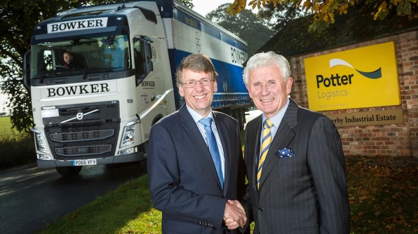 Potter sells logistics business to Bowker