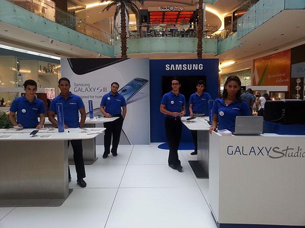 El Samsung Galaxy Studio llega a Plaza Sambil
