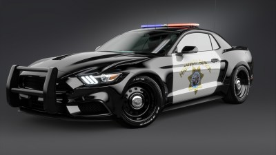 2017 Ford Mustang NotchBack Design Police 2 Wallpaper | HD Car Wallpapers | ID #7633