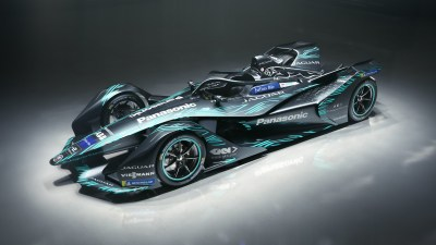 2018 Jaguar I Type Electric Formula E Car 4K Wallpaper | HD Car Wallpapers | ID #10146