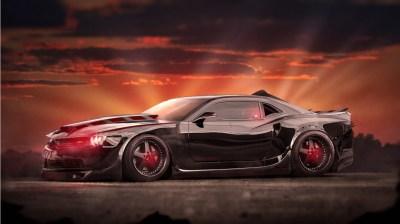 Evil Chevrolet Camaro Muscle Car Wallpaper | HD Car Wallpapers | ID #6823