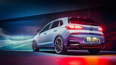 Hyundai i30 N 2017 Rear Wallpaper | HD Car Wallpapers | ID #7972