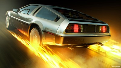 Back to the Future DeLorean 4K Wallpaper | HD Car Wallpapers | ID #8033