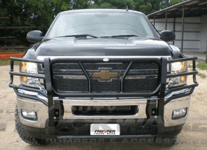 Frontier Series Brush Guard Chevrolet Silverado 2500 3500 HD Heavy     Frontier Series Brush Guard Chevrolet Silverado 2500 3500 HD Heavy Duty  Frontier Series Grille Brush Guard  200 21 1006     665 00   Heavy Duty  Truckware