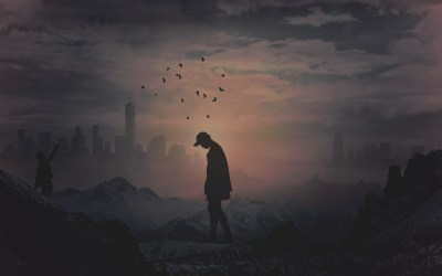 Alone Silhouette 4K Wallpapers | HD Wallpapers | ID #24418