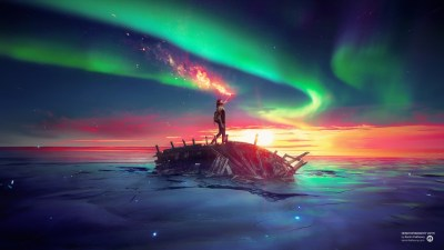 Ancient Future Sky Sea Wallpapers | HD Wallpapers | ID #16100