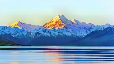 Aoraki Mount Cook New Zealand 5K Wallpapers | HD Wallpapers | ID #19642