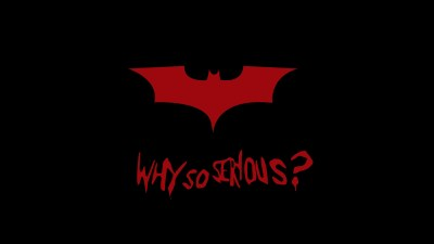 Batman Why So Serious 4K 8K Wallpapers | HD Wallpapers | ID #22304