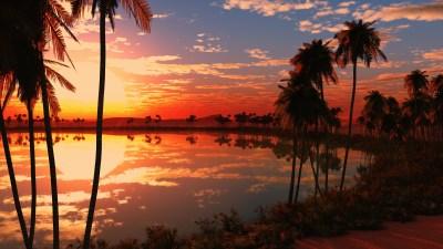 Beautiful Lake Sunset Wallpapers | HD Wallpapers | ID #18052