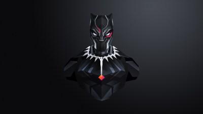 Black Panther Minimal 4K Wallpapers | HD Wallpapers | ID #23076