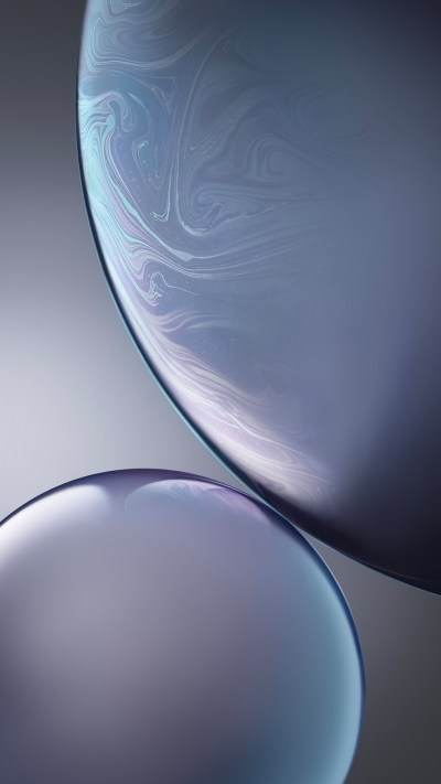 Grey Bubbles iPhone XR Stock Wallpapers | HD Wallpapers | ID #26053