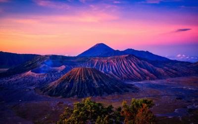 Mount Bromo Volcano Sunrise 4K Wallpapers | HD Wallpapers | ID #24996