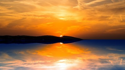 Orange Sunset Wallpapers | HD Wallpapers | ID #16935