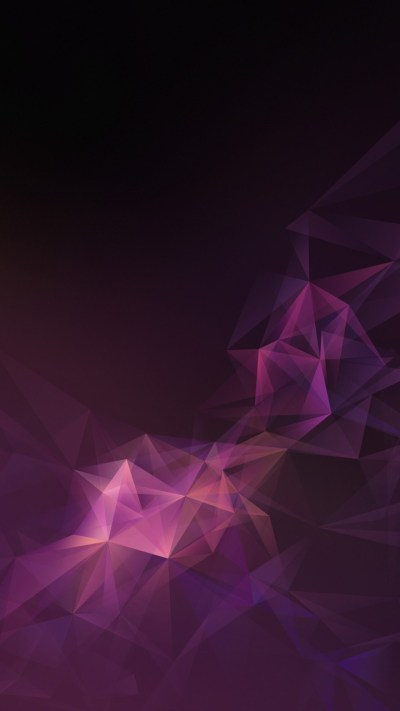 Pink Lowpoly Abstract Samsung Galaxy S9 Stock Wallpapers | HD Wallpapers | ID #23432
