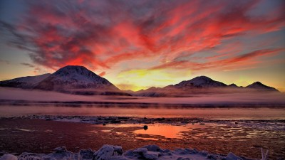 Twilight Cook Inlet Alaska Wallpapers | HD Wallpapers | ID #12443