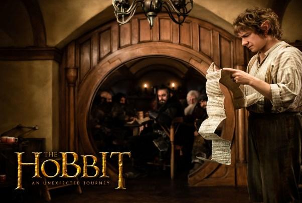 bilbo baggins in the hobbit 2012 wide Peter Jackson Presents The Hobbit Production Video #6