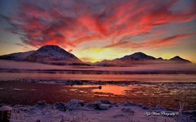 Twilight Cook Inlet Alaska Wallpapers | HD Wallpapers | ID #12443