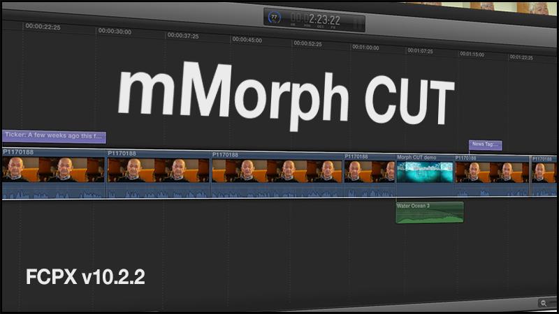 Morph CUT title