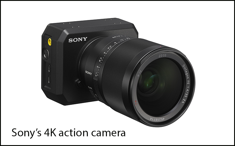 Sonys action cam