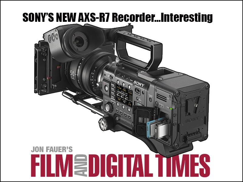 Sonys RAW recorder