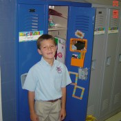 First locker