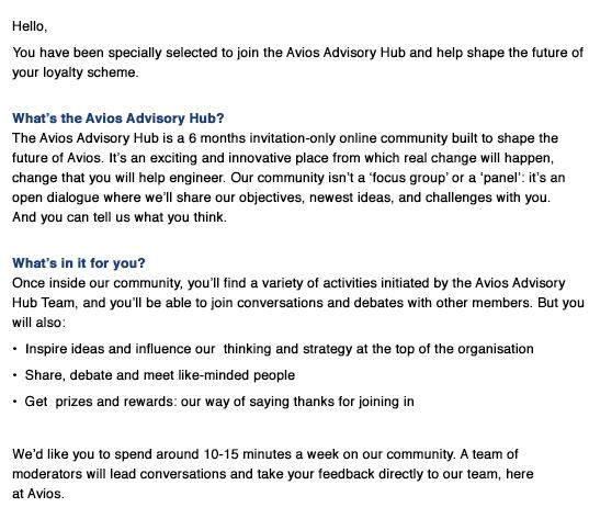Advisory hub