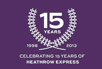 Heathrow Express birthday