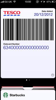 Clubcard Passbook