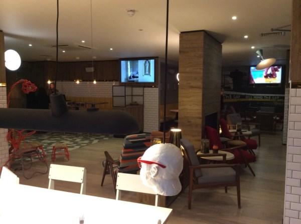 Qbic London hotel review - lounge 2
