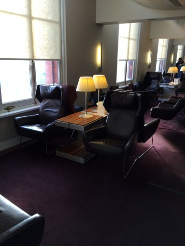 Eurostar lounge St Pancras London review