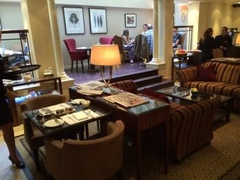 Langham London club lounge review