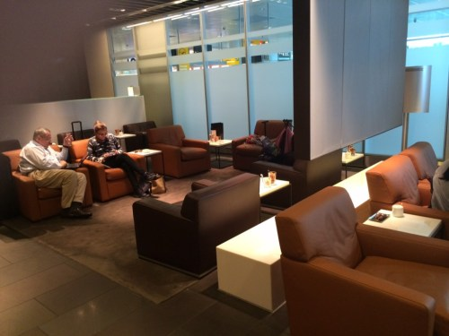 Lufthansa Munich First Class lounge 6 review