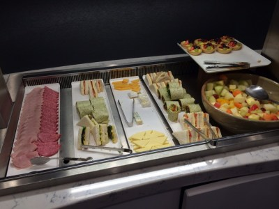 Heathrow Terminal 2 United Club lounge review - food 5