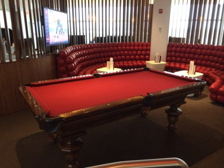 Virgin Clubhouse JFK pool table review