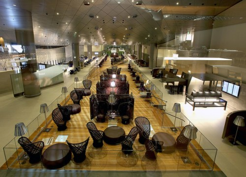 Qatar Hamad lounge 2