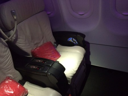 Virgin America First Class 1 review