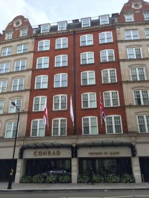 Conrad London St James exterior