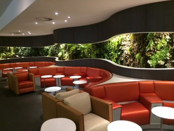 Skyteam Lounge Heathrow Terminal 4 upstairs