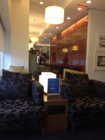Washington British Airways First Class lounge 1