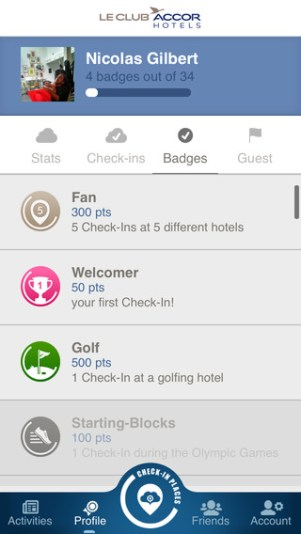 Accor Places screenshot