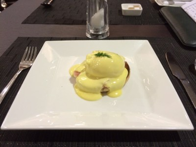 Food Etihad lounge Heathrow review