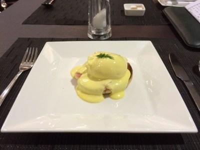 Food Etihad lounge Heathrow review