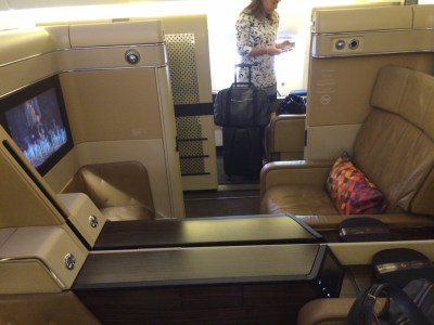 Etihad Boeing 777 First Class Suite 3