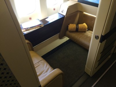 Etihad Boeing 777 First Class Suite 1