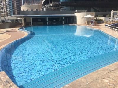 Jumeirah Etihad Towers review pool