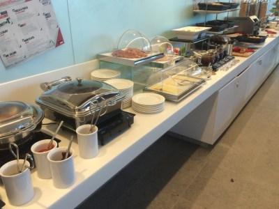 Melia Innside hotel Manchester breakfast