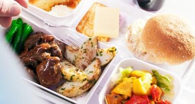 Air New Zealand promo food